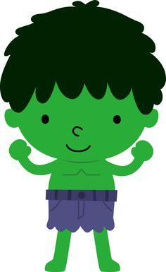 Super Heróis - Minus Hulk, Superhero Clipart, Cute Clipart, Planner Decorating, Cute Images, Classroom Decor, Painted Rocks, Cute Babies, Disney Characters