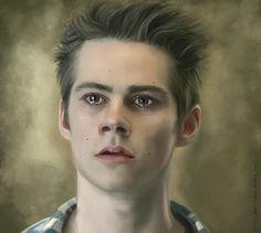 Stiles Stilinski by Marcianca on DeviantArt (Stiles Stilinski, Dylan O'Brien, Teen Wolf Fanart)