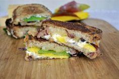 Jalapeño Popper Grilled Cheese With Bacon And Mango