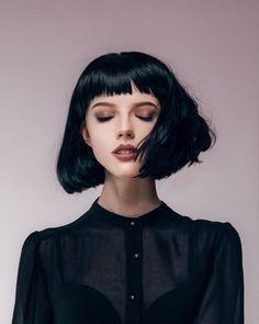 Resultado de imagem para short hair black