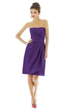 Alfred Sung D601 Bridesmaid Dress | Weddington Way