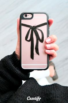 Take a #bow. Click through to see more iPhone 6 case designs by EUNEVE >>> https://www.casetify.com/euneve/collection #phonecase | @casetify