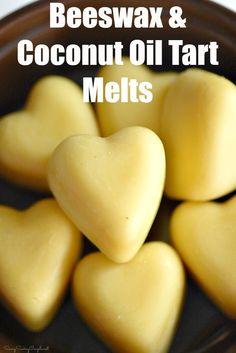 How to make Beeswax Tart Melts. A non-toxic and wax melt alternative