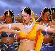 "Deepika in her popular ""Dhoom Tana"" dance track from ""Om shanti Om"" {2007}"