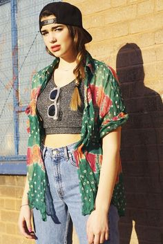 crop top, kimono, dope, gray, light denim, high waisted, skinny jeans, denim, hat, snapback