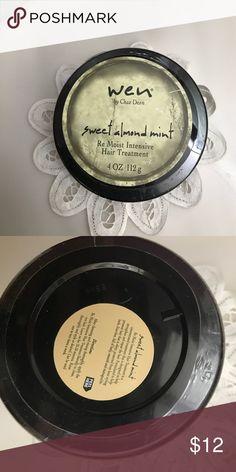 Wen Sweet Almond Mint Re Moist Intensive Hair Wen Sweet Almond Mint Re Moist Intensive Hair Treatment. 4 oz. Wen Other