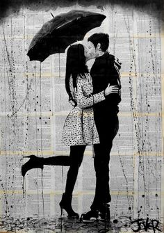 "Saatchi Art Artist: Loui Jover; Ink 2013 Drawing ""one day (SOLD)"""