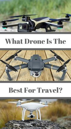 "What drone is the best for travel? As a full-time traveler and a commercial drone pilot, I get asked all of the time, ""What are the best drones for travel?"" While this is not a question with a straight forward answer, there are many drone options out on the market today that will work well for travel. The goal is to make the selection process easy for you in this guide the goes over the best drones for travel. Click to read more at http://www.divergenttravelers.com/best-drones-for-travel/"