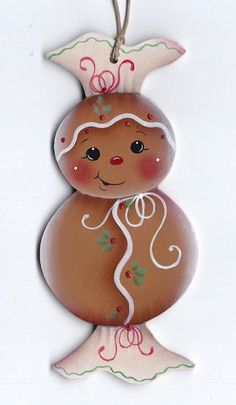 HP GINGERBREAD Candy ORNAMENT
