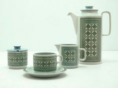 #Hornsea Pottery 'Tapestry' series  1970's,  England