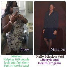 Kelly Tutt #Mission100 #95  So what exactly is the Mission 100 Healthy Lifestyle Program? We are looking to help 100 people lose 20 or more pounds and when you lose 20 pounds we will reward you with one of our stylish It Works Shirt and free products you will earn for participating in the program. The amount of free products you will get is up to you and what you need to become more healthy.  Over the years my team and I have experimented with different ways on how to help my clients lose…