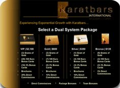 http://www.karatbars.com/?s=mauricer - Experiencing exponential growth with Karatbars International.