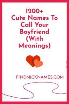 Cute nicknames for fiance