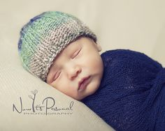 An easy ribbed hat knitting pattern. Sizes included: Newborn to 3 Months, 3 to 6 Months, 6 to 12 Months, 12 to 24 Months, Toddler to Small Adult, Regular to Large Adult.