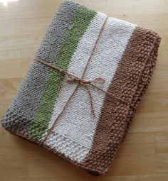 Indescribably Soft Organic Cotton Baby Blanket, Hand Knit, Nursery, Baby Shower, Stroller Throw