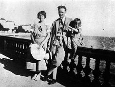 Zelda, F.Scott and Scottie Fitzgerald