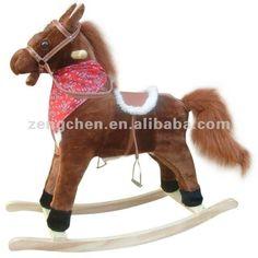 Andar a cavalo , passeio no brinquedo , cavalinho de pau , cavalo de madeira-Animais de brinquedo para cavalgar-ID do produto:579385013-port...