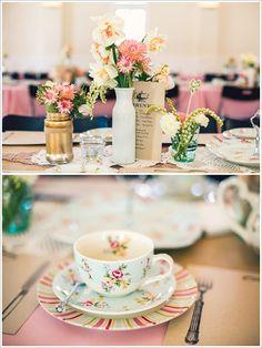 18 a chá de panela lingerie decoração vintage