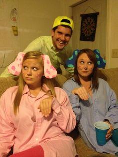Frat Steve found Blue and Magenta. Halloween Costumes