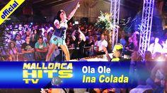 """Ina Colada bei der Zugabe auf der Seepark 6 Mallorca Schlager Party 2014 mit Ihrem neuen Song """"Ola Ole die Party geht bis mnorgen früh"""".  http://mallorcahitstv.de/2014/08/ina-colada-ola-ole-die-party-geht-die-ganze-nacht-bis-morgen-frueh/"""