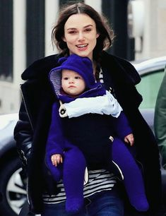 Keira Knightley with daughter Edie
