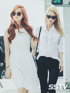 150610 Inchen Airport to Thailand for Music Video Filming SNSD Seohyun and Yoona