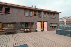 Spaarnoogstraat, woningen boven de parkeergarage