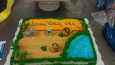 Baby Ian's Shower Cake