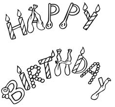 Happy Birthday Cards Coloring Pages Coloring Pages Pinterest Birthday Card Coloring Page