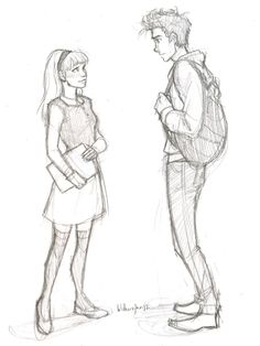 Mina Grime and Brody in the Unenchanted Book Series.