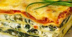 Εύκολα λαζάνια με σπανάκι! Greek Recipes, Light Recipes, Greek Cooking, Lasagna, Bakery, Food And Drink, Cooking Recipes, Vegetarian, Pasta