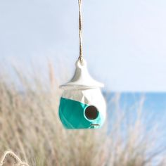 Enjoy watching birds at your beach house with this easy, painted birdhouse DIY. Make the bird's house just as special as yours by adding a little color to their space. Beach Crafts For Kids, Summer Crafts, Bird Houses Painted, Bird Houses Diy, Budget Crafts, Lawn Party, Flower Canvas, Painting Tools, Birdhouse