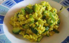 Risotto con zucchine Riso 320 g (ottimo anche quello integrale) Zucchine 350 g…