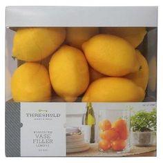 Vase Filler Lemons Threshold