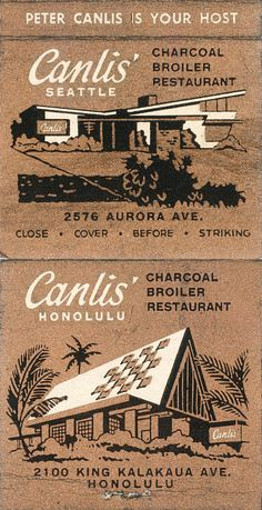 Canlis' Seattle and Honolulu | Flickr - Photo Sharing!