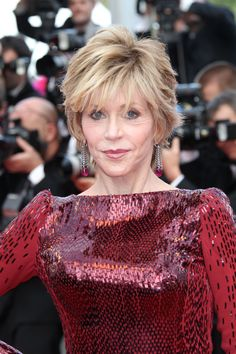 Jane Fonda on the 65th Cannes Film Festival red carpet wearing Chopard, 18th May 2012