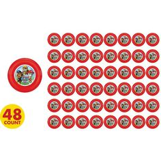 PAW Patrol Mini Discs sold individually at party city $0.35