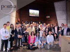 Visita a Portia en el mes de abril