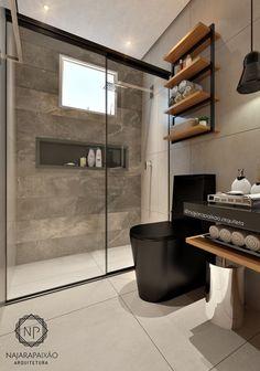Modern Bathroom Design For Small Bathroom Modern Bathroom Design For Small Bathroom. When you are about to build a house, the first thing you need to think Bathroom Design Luxury, Modern Bathroom Design, Toilette Design, Black Toilet, Bathroom Inspiration, Bathroom Ideas, Bathroom Spa, Cream Bathroom, Spa Tub