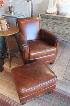 To replace office chair & 125 best French Leather Club Chair images on Pinterest | Home ideas ...