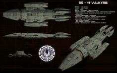 BS-41 Valkyrie ortho by unusualsuspex