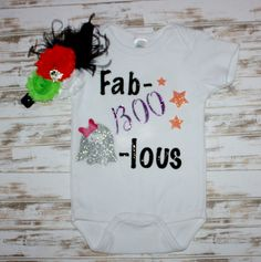 A personal favorite from my Etsy shop https://www.etsy.com/listing/248879551/fab-boo-lous-halloween-top-with-headband