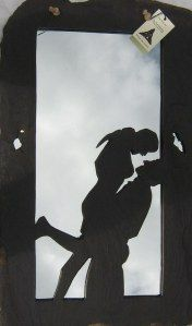 Now Handcrafted Slate on Mirror 73 cm x 43 cm Irish Art, Slate, Mad, Take That, In This Moment, Mirror, Chalkboard, Mirrors