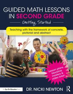 Guided Math Lessons in Second Grade: Getting Started - 1st Edition - N Guided Math Groups, Math Talk, Menu Book, Math Intervention, Math Workshop, Word Problems, Math Lessons, Book Club Books, Second Grade