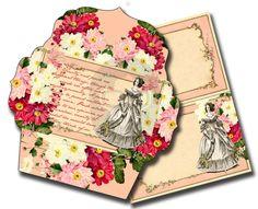 Jane Austen Quote  Set 2 Printable Envelopes   8 by TsunamiRose