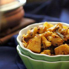 Burnt Chili Spiced Cabbage and Potatoes. Patta Gobi Aloo Sabji. vegan glutenfree recipe | Vegan Richa