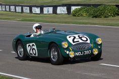 Austin-Healey 100S Works Le Mans car with a history .