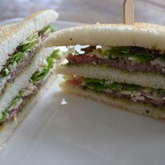 Clubsandwich Carpaccio