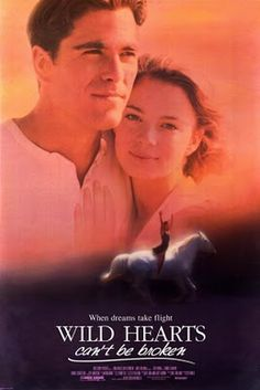 """One of my all time favorite movies <3 Wild Hearts Can't Be Broken... The book is titled """"A Girl & 5 Brave Horses"""" (also very good)."""