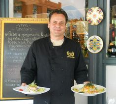 The Vine - Coligny Plaze - Hilton Head, SC - Executive Chef Olivier Allain. The best fusion italian and the most romantic place on the island.